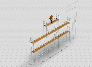 Uthyrning byggställning i Hudiksvall | Gavel