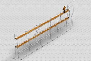 Uthyrning byggställning i Hudiksvall | Långsida